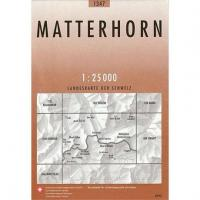 Matterhorn Swiss 1347 Map